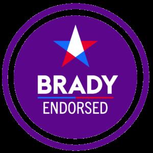 brady endorsed